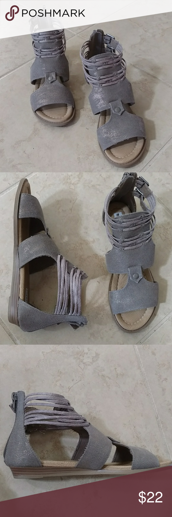 Not Rated Eleonora Taupe Wedge Sandals. Sz. 8 Taupe color with slight rose gold metallic sheen that catches the light. Fabric upper. Low wedge 1 Inch heel sandals. Ankle strap design with side buckles. Back zip closure. Very good condition, never worn outside. Not Rated Shoes Wedges #lowwedgesandals Not Rated Eleonora Taupe Wedge Sandals. Sz. 8 Taupe color with slight rose gold metallic sheen that catches the light. Fabric upper. Low wedge 1 Inch heel sandals. Ankle strap design with side buck #lowwedgesandals