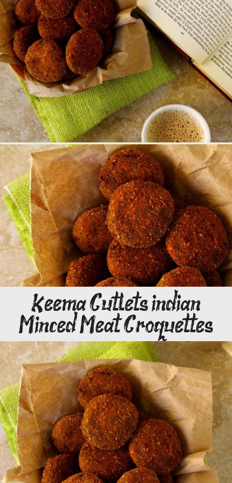 Keema Cutlets indian Minced Meat Croquettes - Recipes For ...