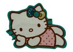 Hello Kitty figure rug.