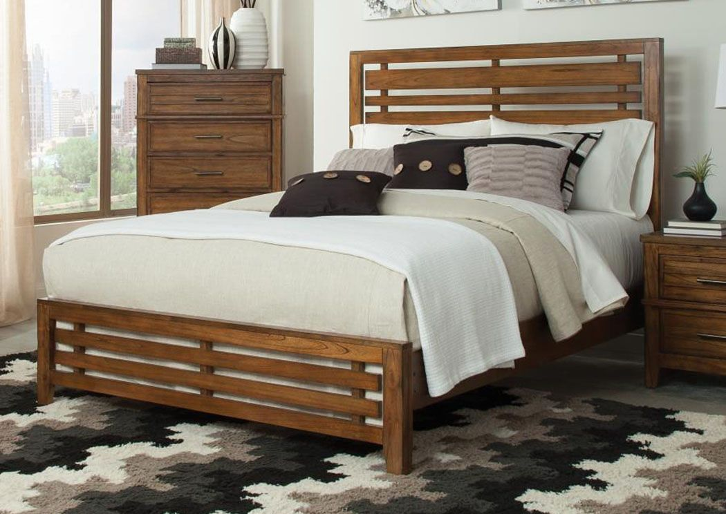 Eastern King Bed Cal king bedding, Bed, Modern panel beds