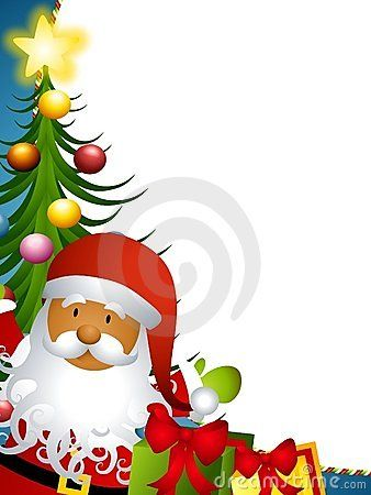 cute santa claus clip art | clip art borders christmas. Free ...
