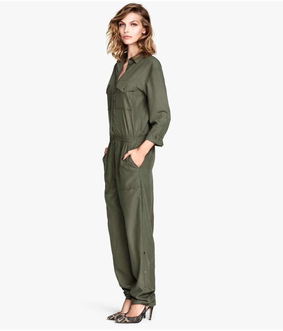 79e96c5cab6 Fashion House H M Denies Khaki Green Jumpsuit is Based on Kurdish Female  Fighters  Uniform  Peshmerga  TwitterKurds  KRG