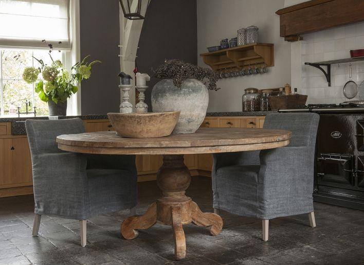 Ronde boeren eettafel 160 cm   EUR 1450   Interior Design   Kitchen   Pinterest   European