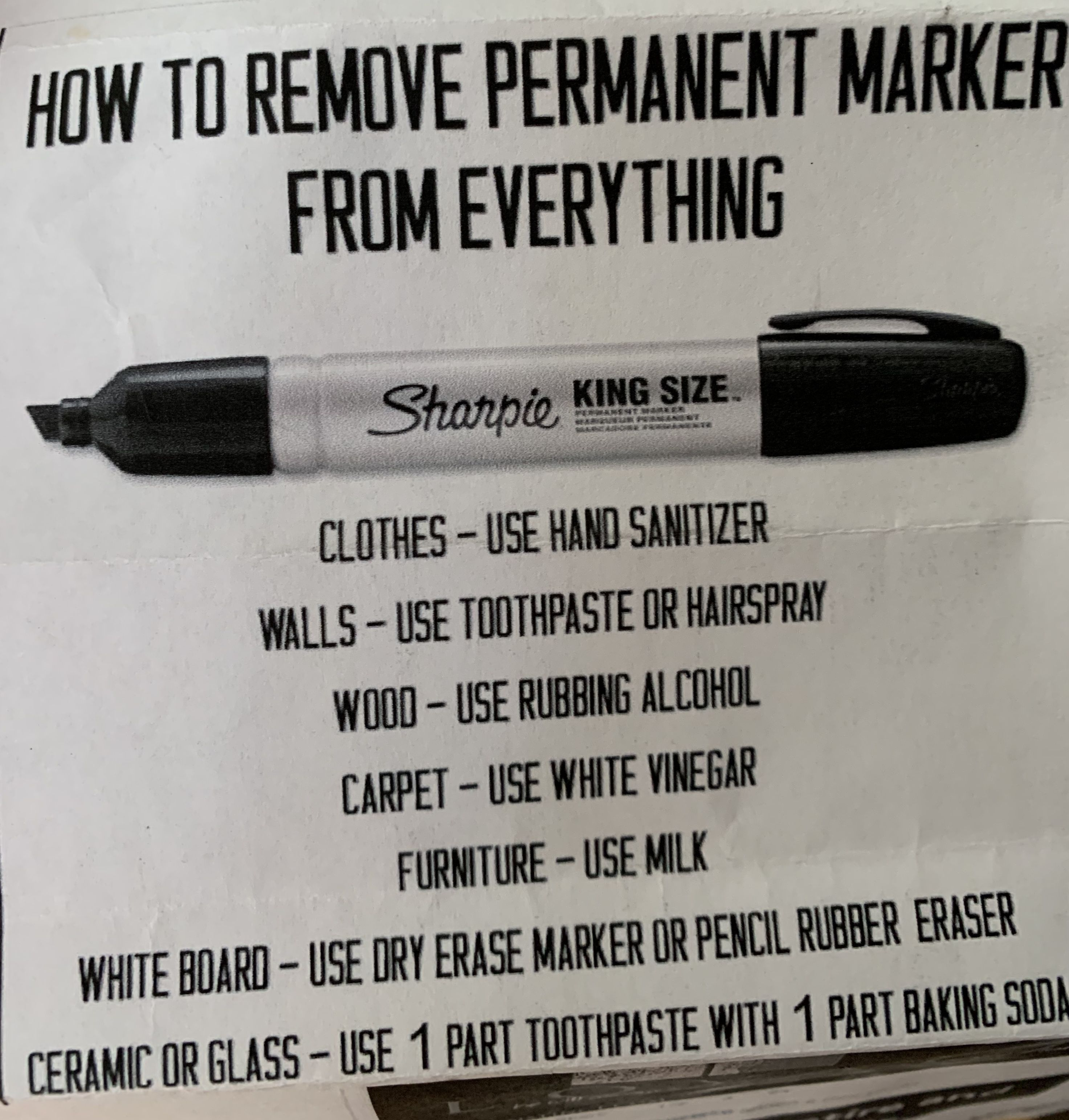 Pin By Kathy Girling On So Fresh And So Clean Rubbing Alcohol Uses Dry Erase Markers Dry Erase