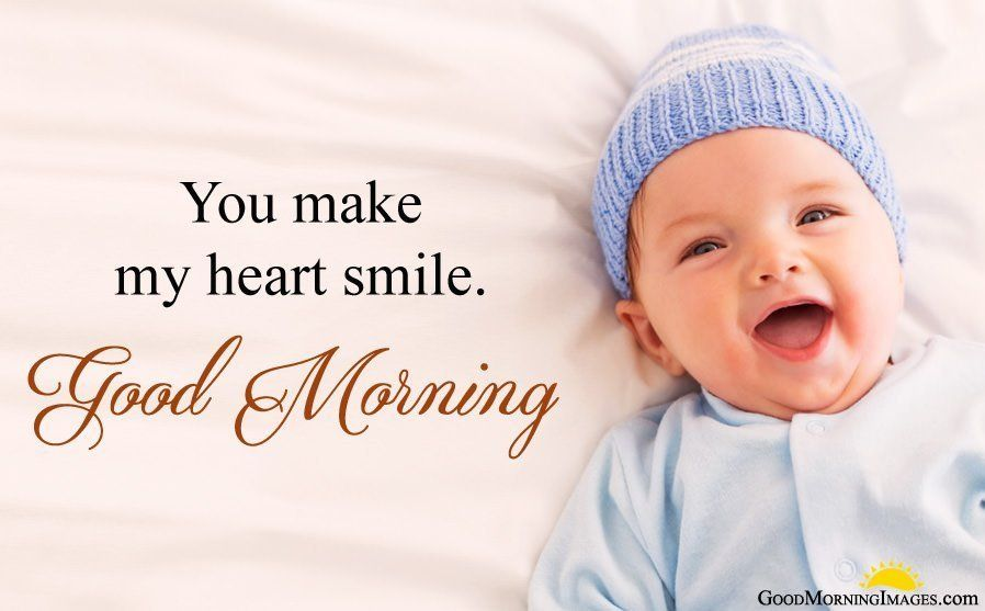 Cute Baby Images For Good Morning Greetings Good Morning Baby Photos Baby Images Good Morning Animation