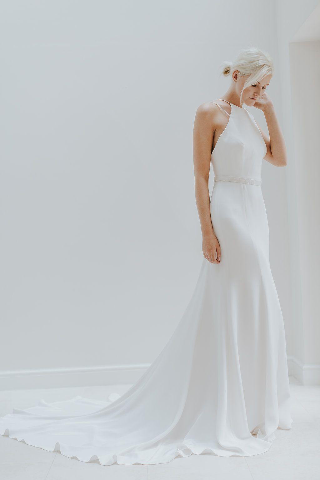 Elegant u minimal bridal gowns by charlotte simpson wedding