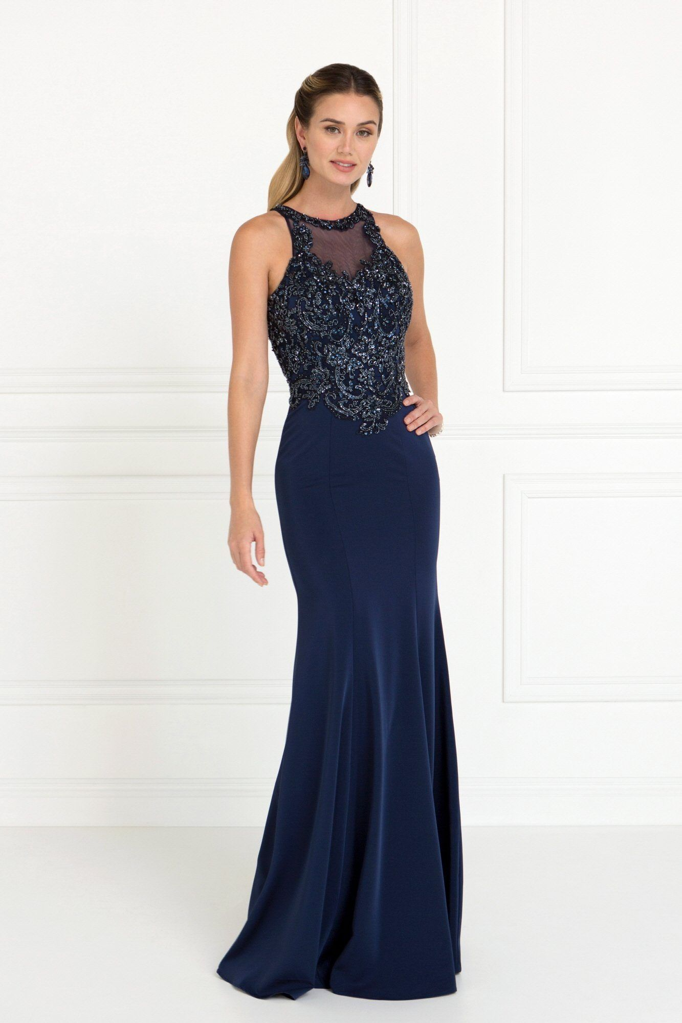 High neck fitted prom dress gls products pinterest fitted