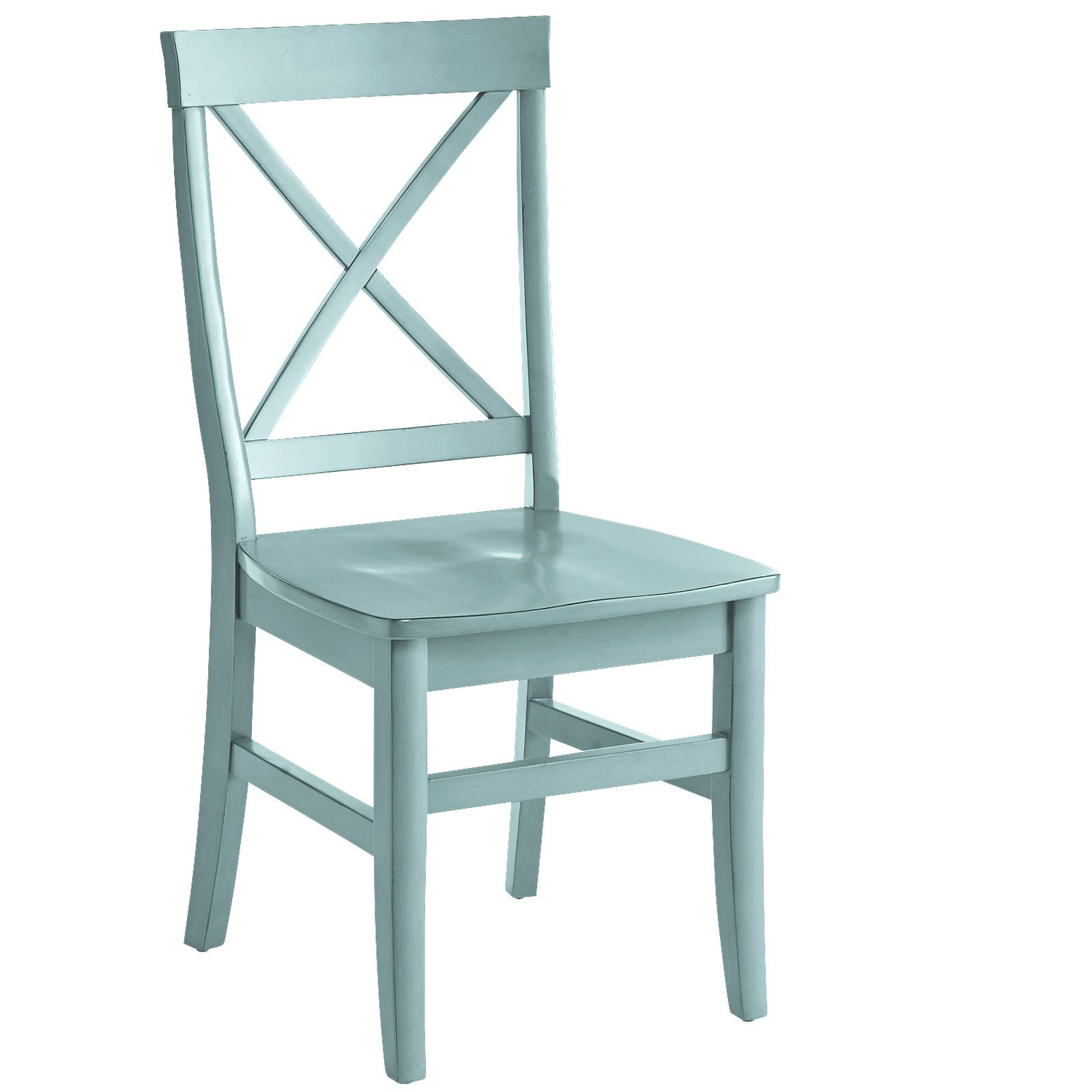 A Matte Black Kitchen Makes A Bold Statement In This: Torrance Smoke Blue Dining Chair