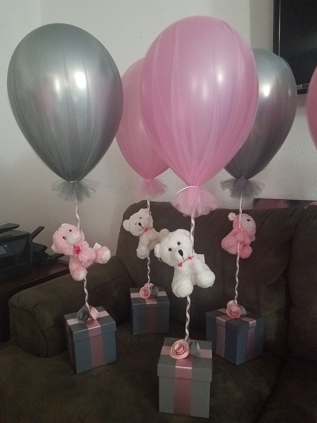 Cute And Very Inexpensive Made 20 Bears And Gift Boxes From Dollar