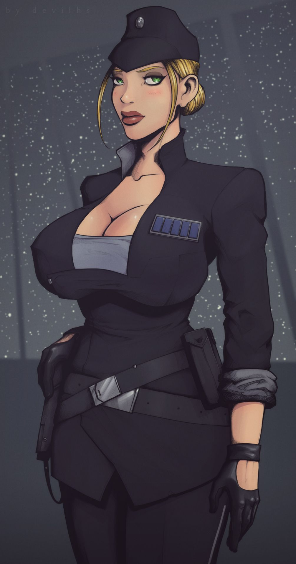 Sexy Officer Porn