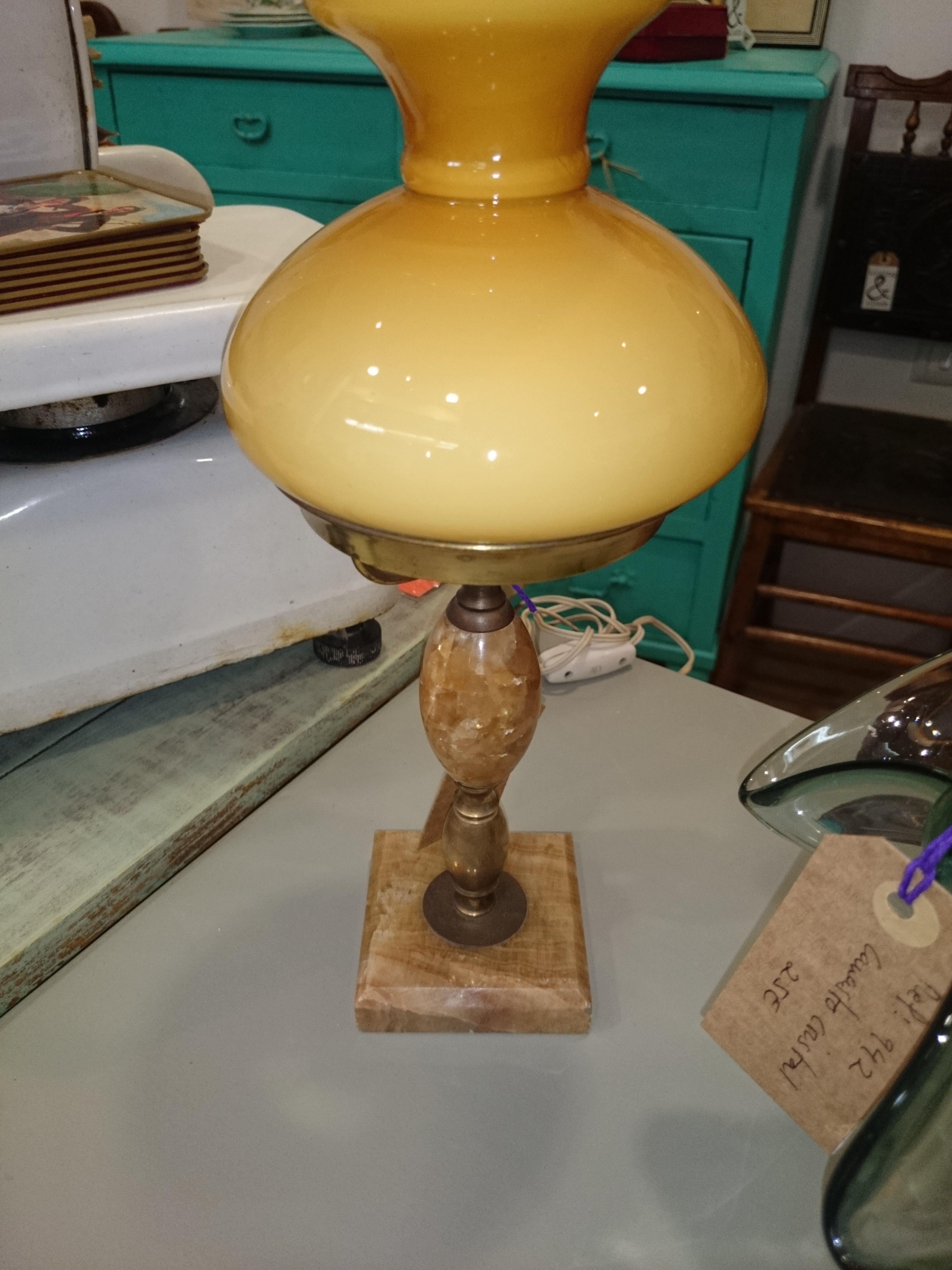 lampara de opalina en venta   Muebles y objetos de decoración ...