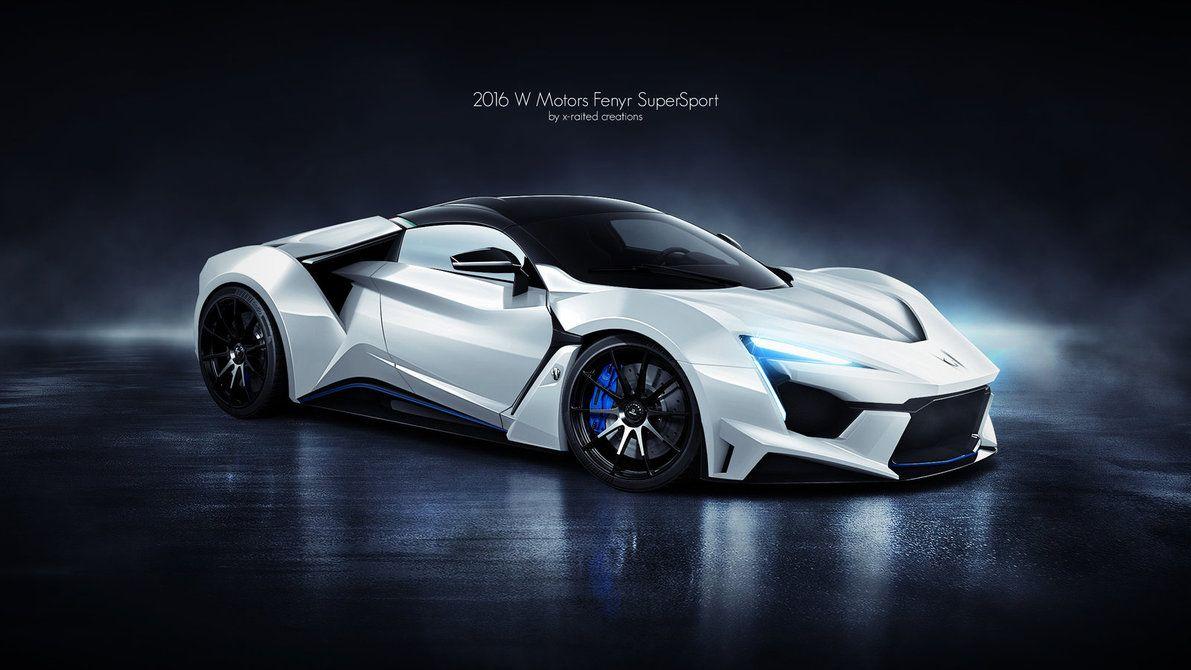 2016 W Motors Fenyr Supersport Super Cars Supersport Sports Cars Luxury