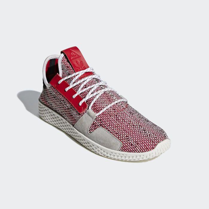 1941cfbdf Pharrell Williams SOLARHU Tennis V2 Shoes Red 10.5 Mens in 2019 ...