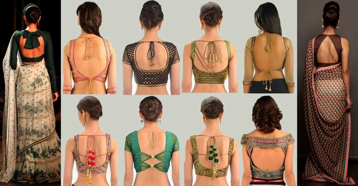 Wedlockindia Com Blouse Designs Collections Click On Visit Button To View Latest Simple Blouse Designs Blouse Back Neck Designs Simple Saree Blouse Designs