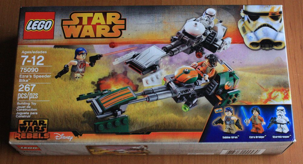 Brand New in Box Lego star wars 2015 75090 Ezra/'s Speeder Bike