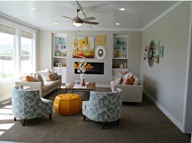 Sw Agreeable Gray With Brown Carpet