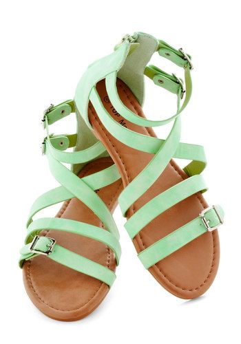 Seafoam the Sights Sandal, #ModCloth
