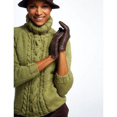 Free Intermediate Women\'s Sweater Knit Pattern   Patone 2017 ...