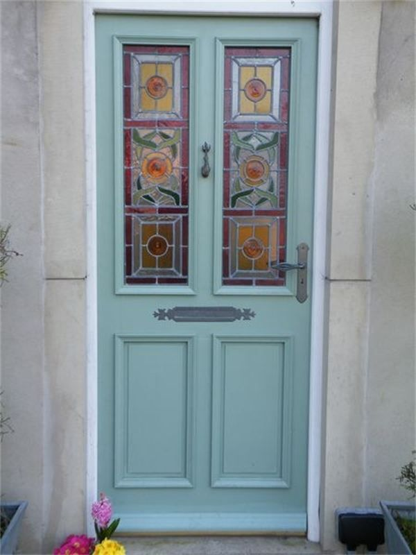 Victorian Stained Glass Door Panels Google Search Victorian