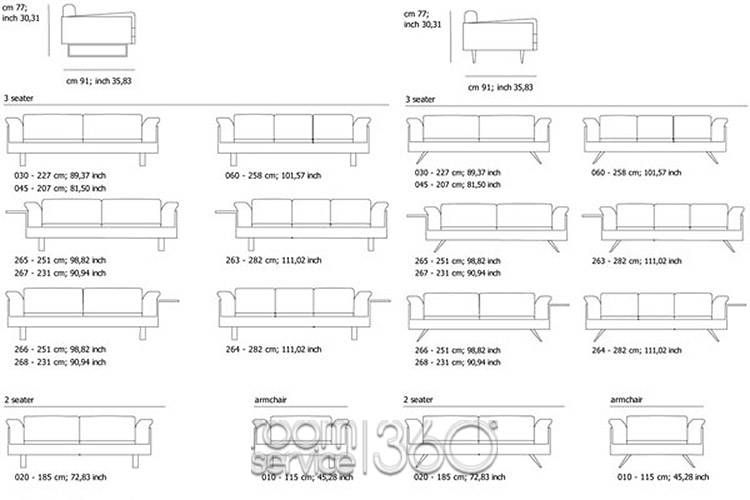 Sofa Size Chart Standard Sofa Size L Shaped Dimensions C