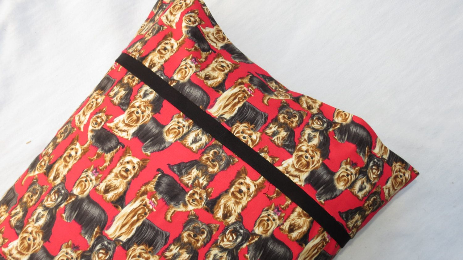 Yorkie hero dachshund dogs pillow cases by mzgeezdesigns on etsy