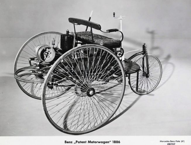 The world\'s first long distance drive was done by Carl Benz\'s wife ...