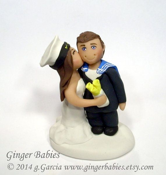 british wedding cake toppers custom royal navy wedding cake topper by gingerbabies 12172