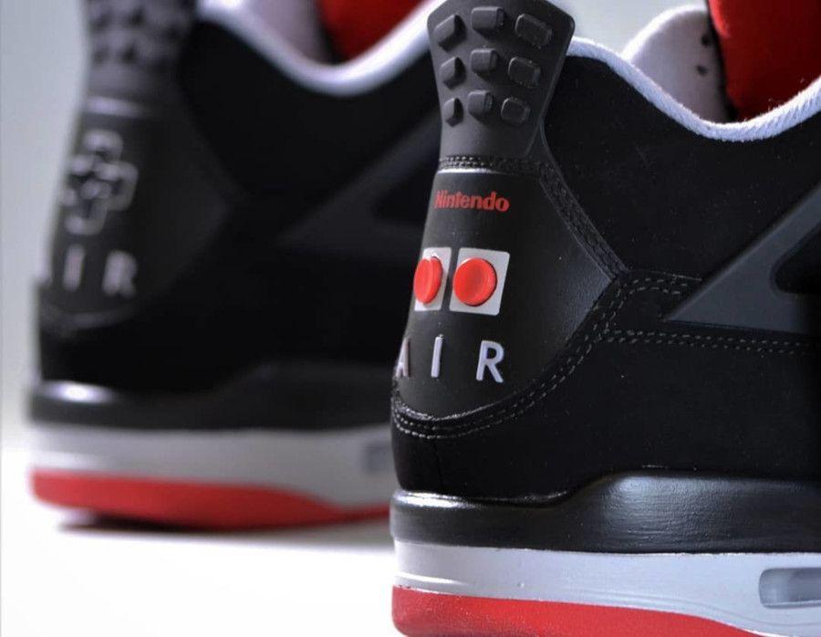 Air Jordan 4 Retro Bred Nintendo Nes