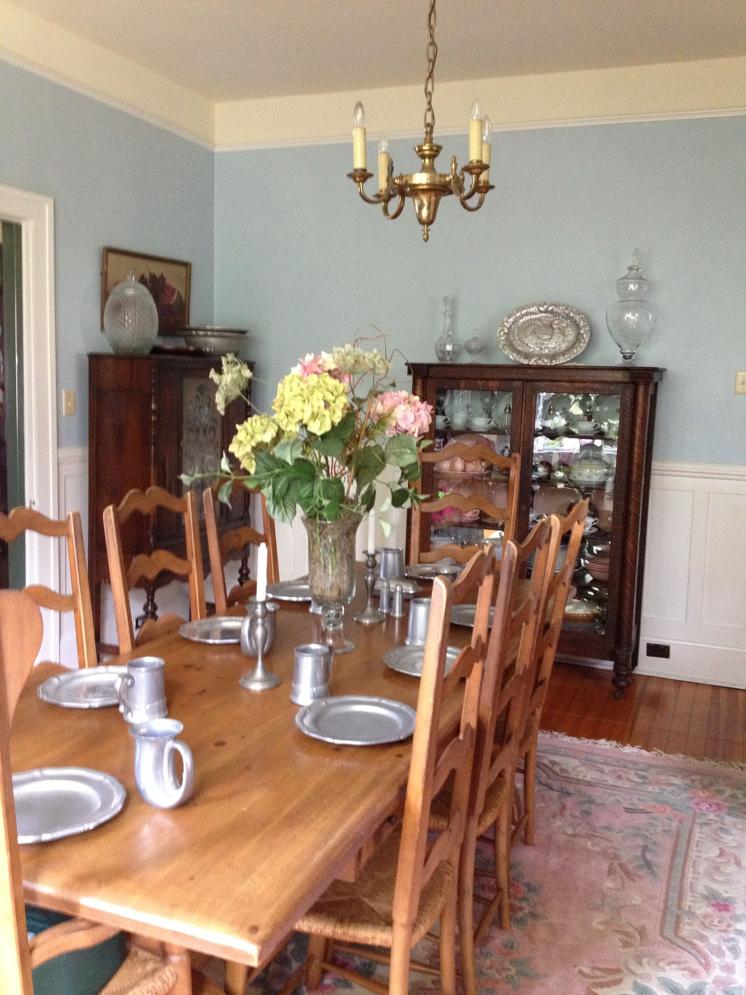 My Fresh New Dining Room Paint Color Sherwin