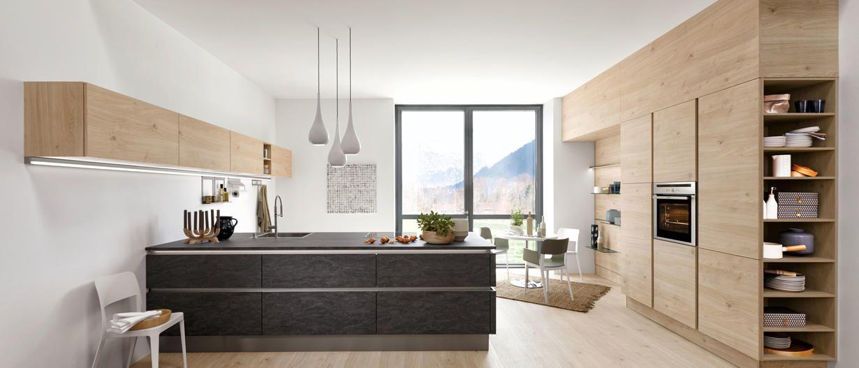 Moderne Küchen | Nolte Küchen | Küche | Pinterest | {Nolte küchen mit kochinsel und theke 24}