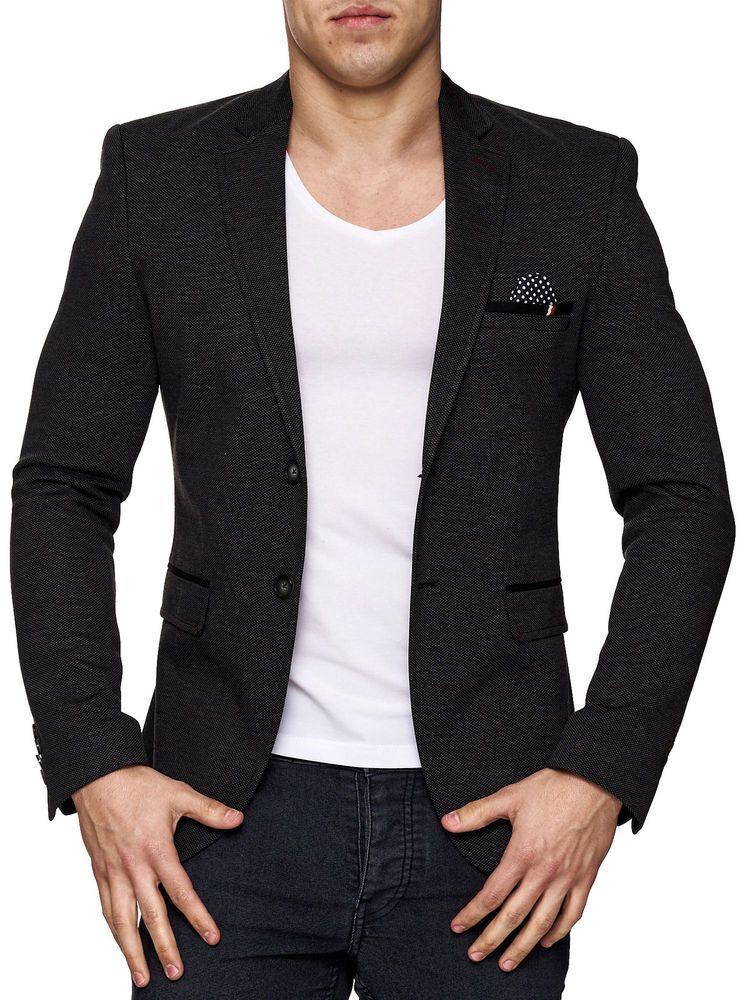 herrensakko sakko blazer jackett anzug slim fit elegant. Black Bedroom Furniture Sets. Home Design Ideas