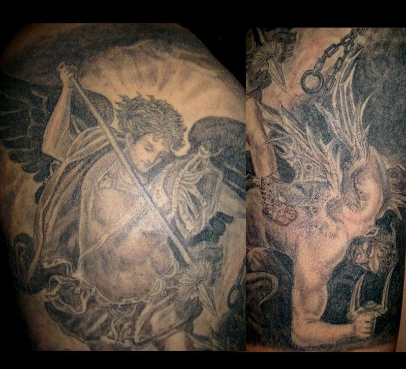 Saint Michael (Half Sleeve) (2)