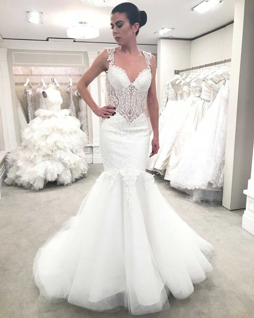 This Gorgeous Pninatornai Style 4653 Is Available At Kleinfeld Pninatornai Regra Kleinfeld Bridal Pnina Tornai Wedding Dress Ball Gown Wedding Dress [ 1350 x 1080 Pixel ]