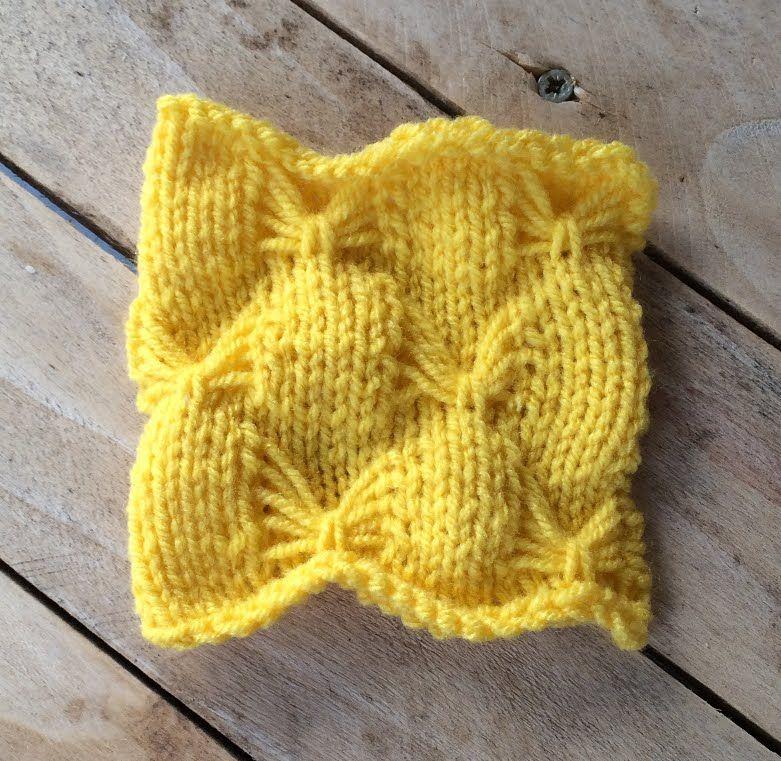 Tricot point papillon | tricots | Pinterest | Tejido en agujas ...