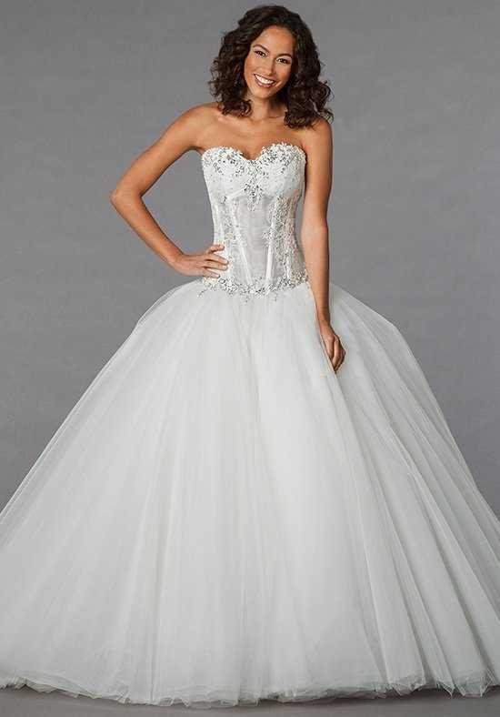 Simple Pnina Tornai for Kleinfeld Ball Gown Wedding Dress