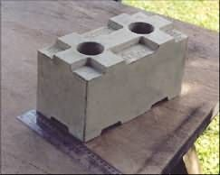 Kiblok Is A Mortarless Interlocking Lightweight Block Which Saves On Construction Time Which Interlocking Concrete Blocks Interlocking Bricks Concrete Blocks