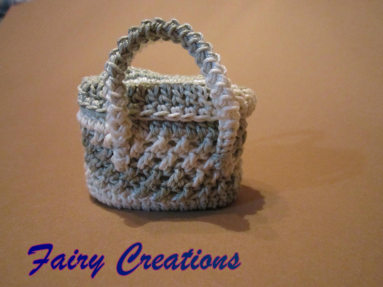 Amigurumi Uncinetto Tutorial Italiano : Tutorial borsetta all uncinetto crochedet crochet plastic