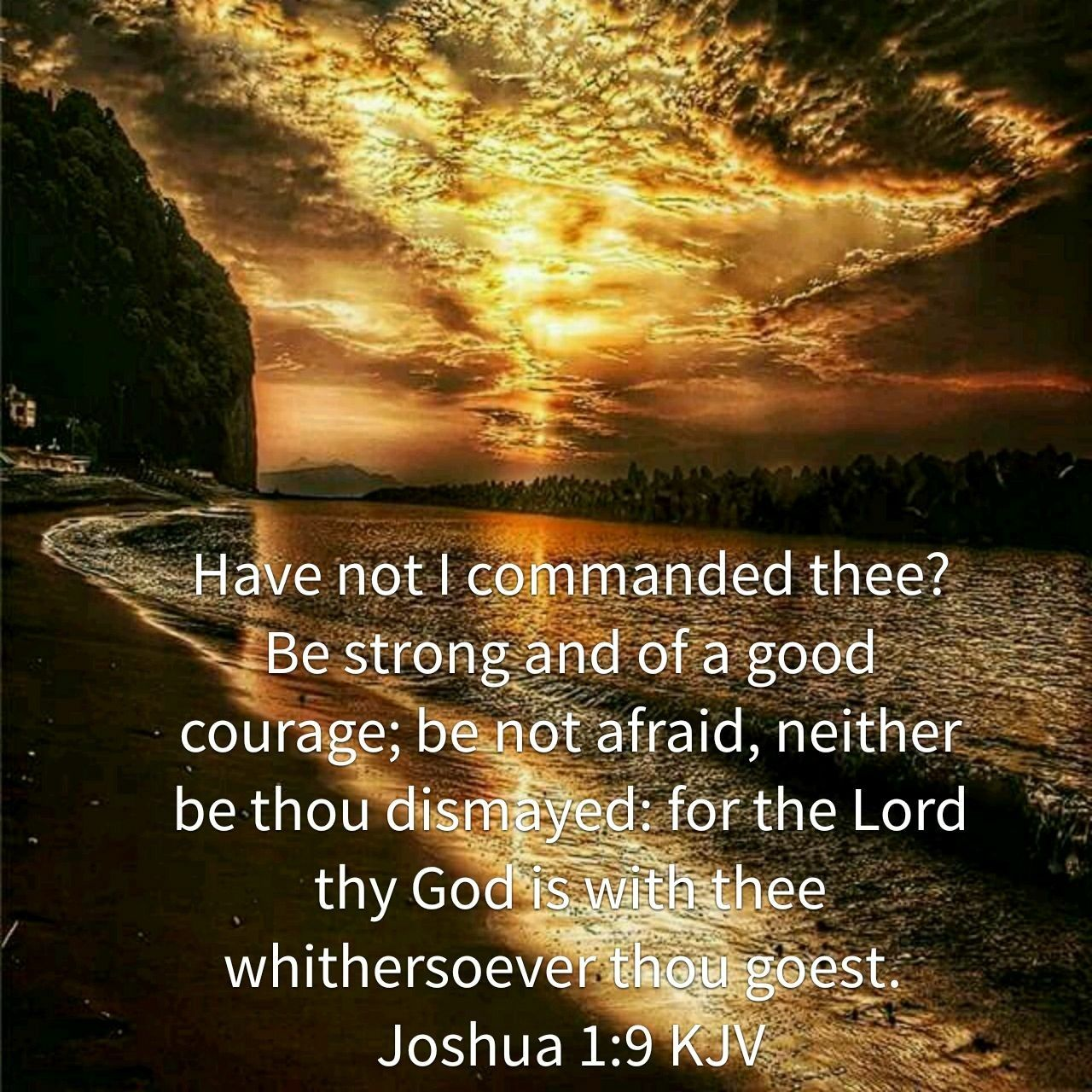 Image result for Be bold strong and courageous  kjv