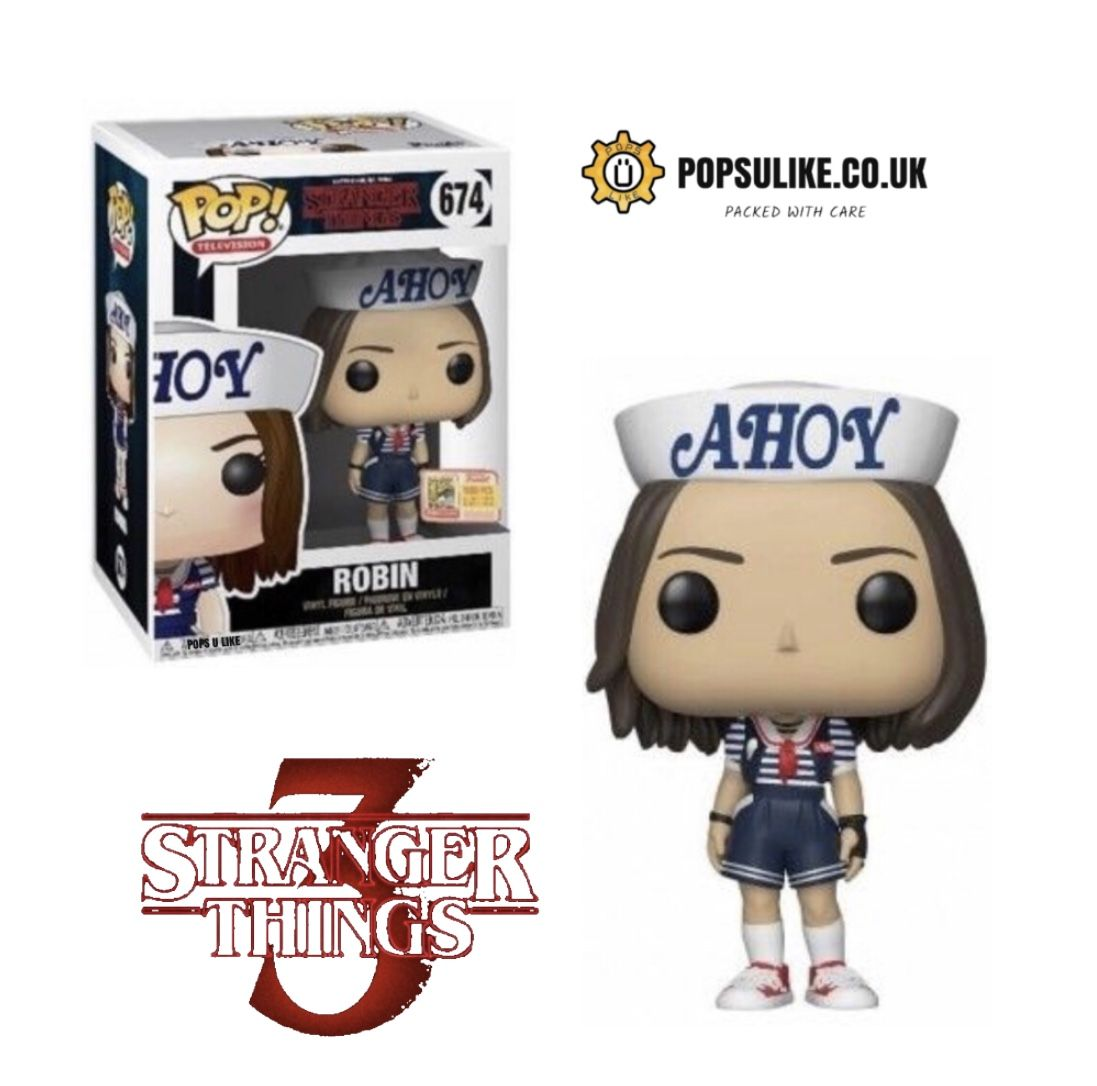 Funko Pop Season 3 Figure Robin Stranger Things