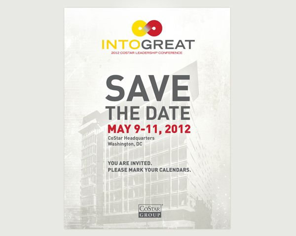 Email Campaign Conference Save The Date Lleem Save The Date Invitation Design Graphic Design Inspiration