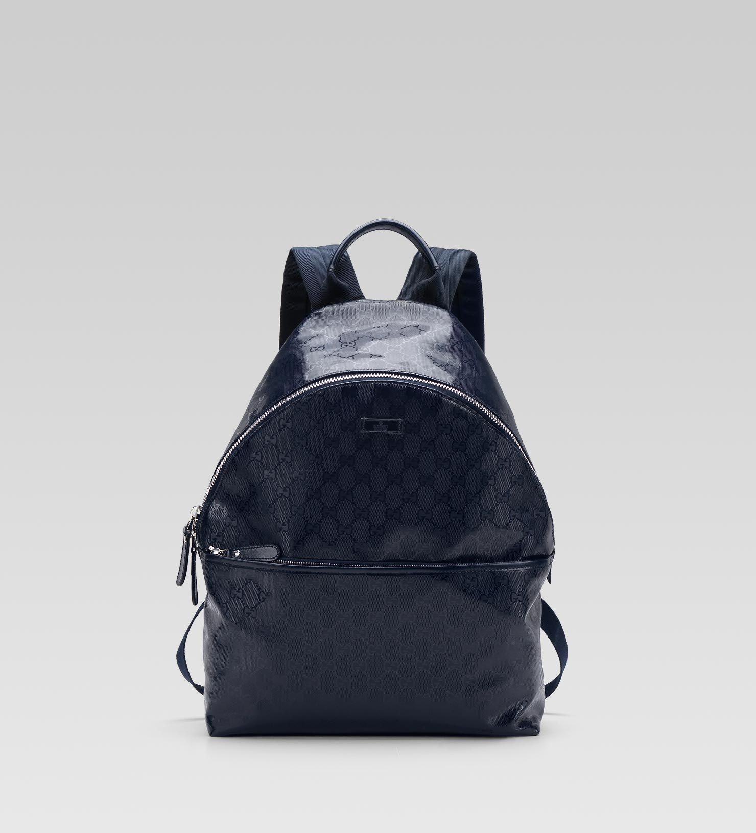 41a879a7e66b Gucci men blue GG imprime backpack 1 | Stuff to buy | Gucci men ...