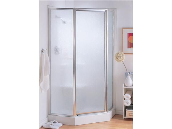 Basement shower idea - Fleurco | Glass shower doors | Signature Montreal Neo-Angle