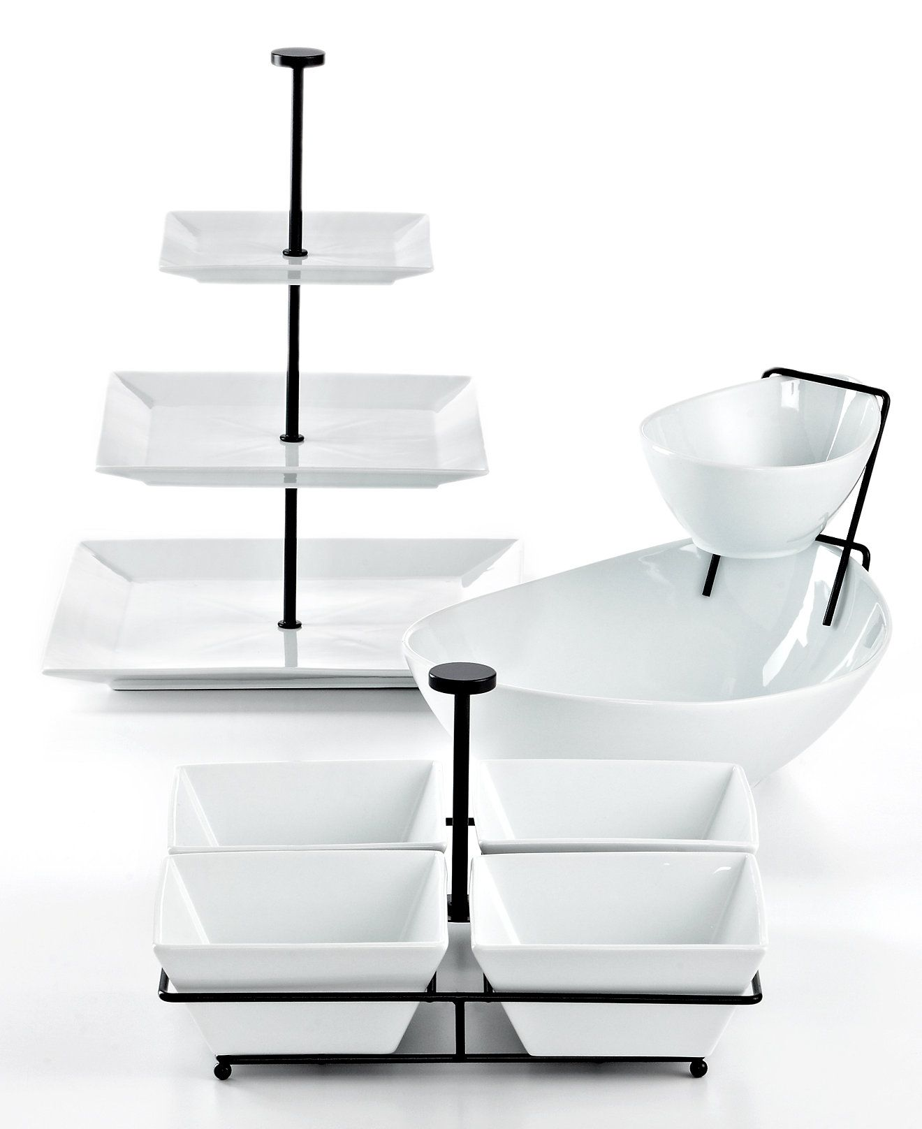 The Cellar Whiteware Serveware Entertaining Collection Created For Macy S Reviews Serveware Dining Macy S Serveware Entertaining Serveware Dining And Entertaining