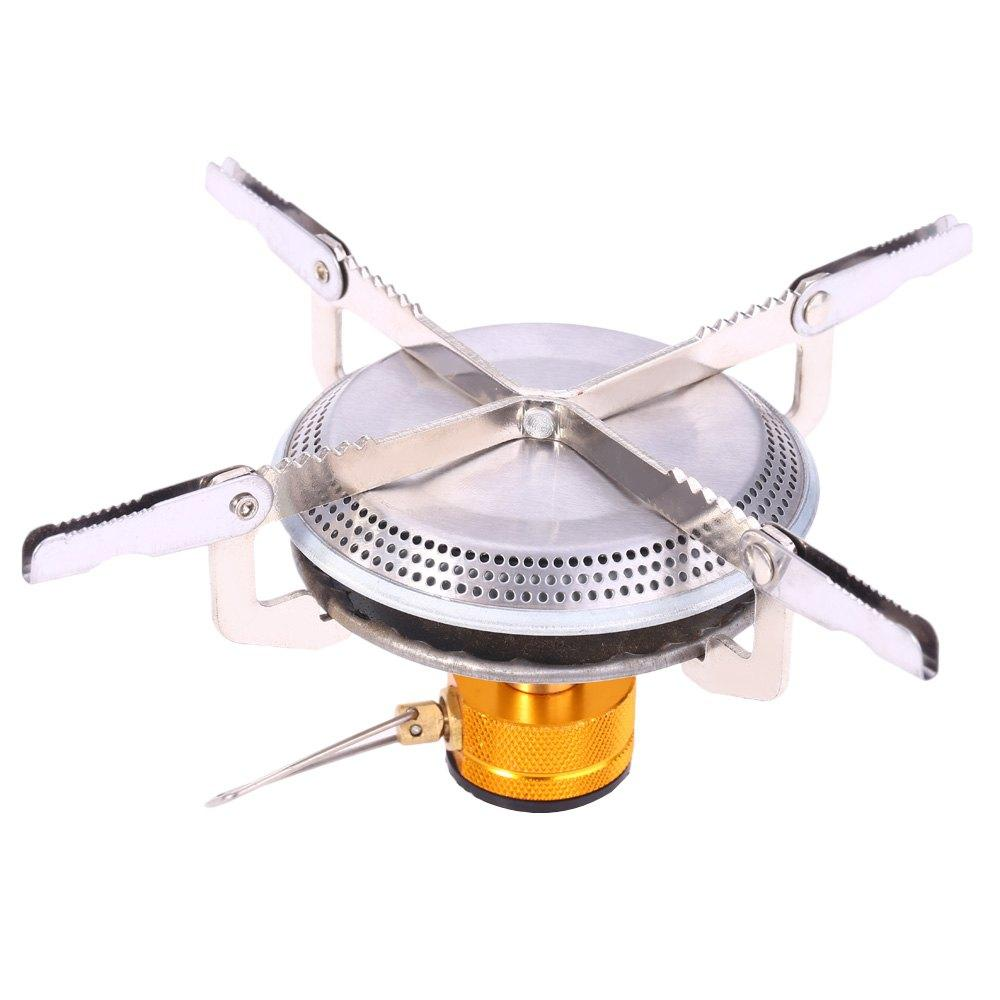 Portable Foldable Camping Hiking Outdoor Picnic Gas Burner Steel Stove Camping