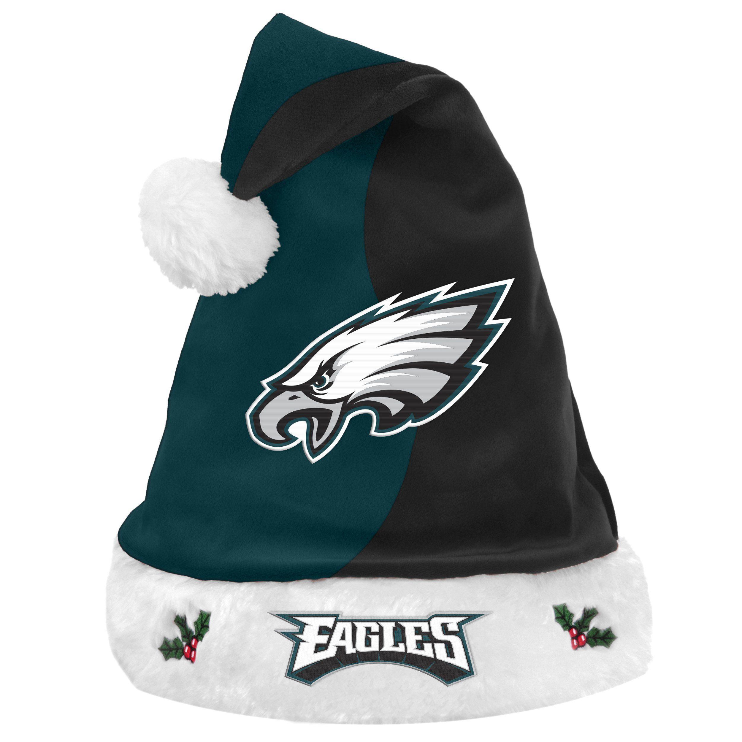 Philadelphia Eagles NFL Premium Christmas Santa Hat | Products
