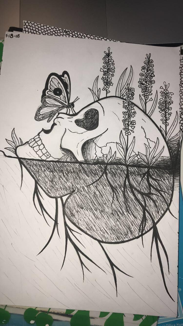 Pin By Sumaika On Doodle Art Nature Art Drawings Art Drawings Sketches Nature Sketch