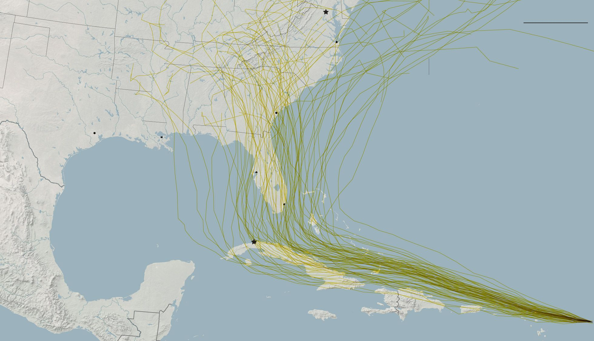 What S In The Path Of Hurricane Irma Hurricane Paths