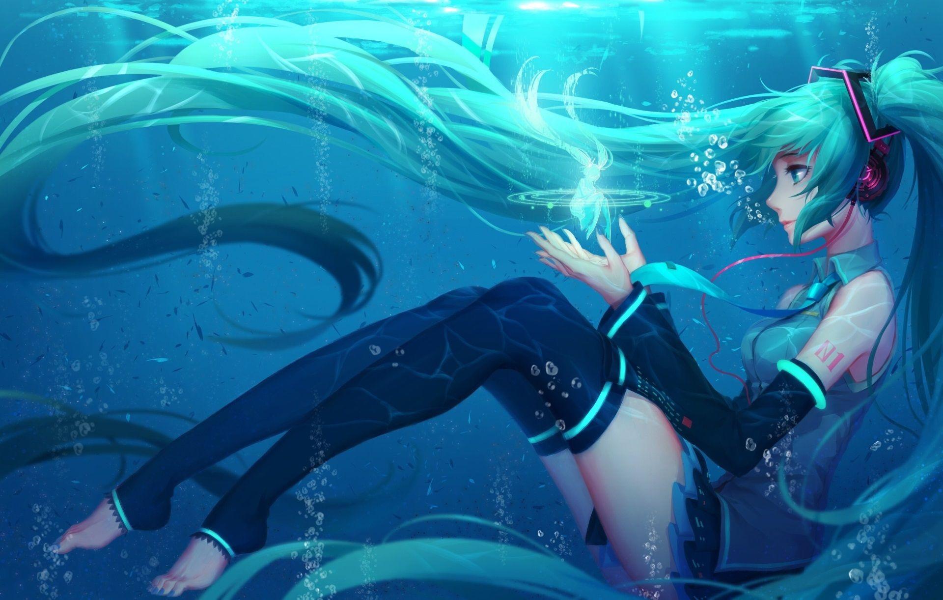 1920x1221 Anime Desktop Wallpaper High Resolution Free Download Hatsune Miku Miku Miku Hatsune Vocaloid