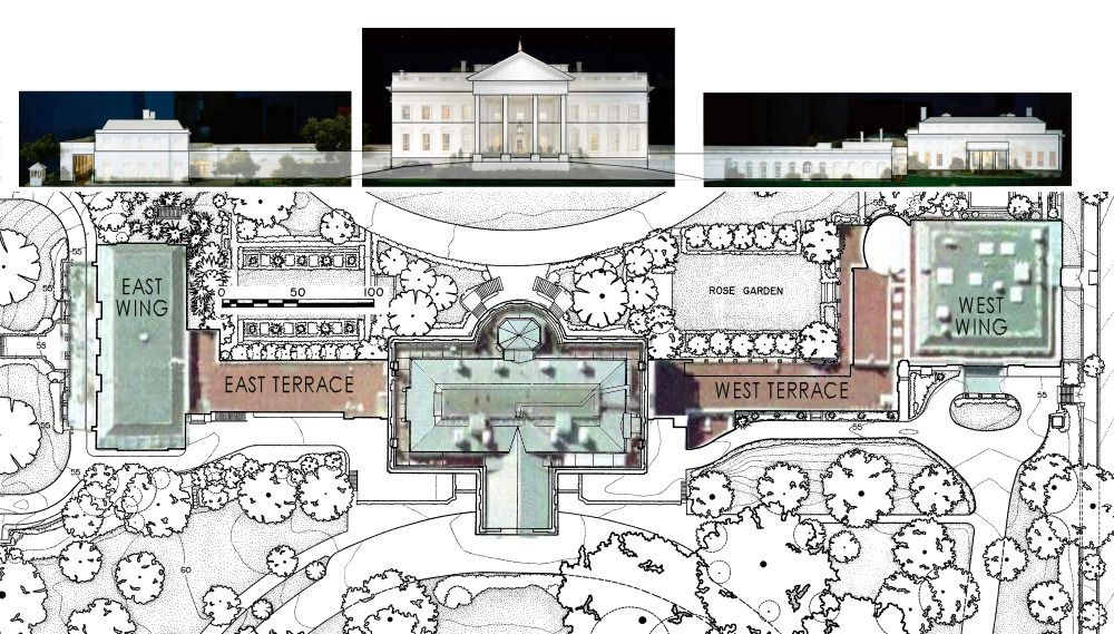 floor plan of white house | The White House Floor Plan Oval Office ...