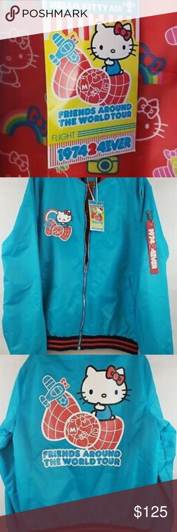 Hello Kitty Bomber Jacket Hello Kitty Kitty Bomber Jacket [ 1740 x 580 Pixel ]